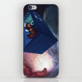 Impossible Girl iPhone Skin