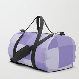 Four Shades of Lavender Square Duffle Bag