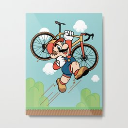 Super Cyclocross Metal Print