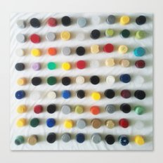 DAMIEN HIRSTED4 Canvas Print