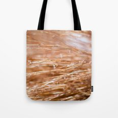Fire Grass Tote Bag