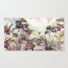 Jungle landscape 02 Canvas Print