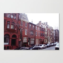 Mansions of Philadelphia Canvas Print