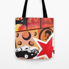 Ritratto surreale del consumismo Tote Bag