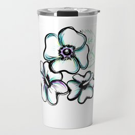 Hibiscus Travel Mug
