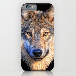 Midnight Wolf iPhone Case