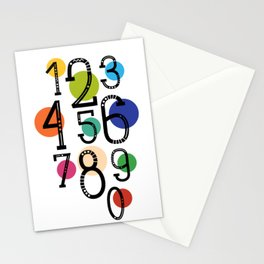 One two nine Stationery Cards