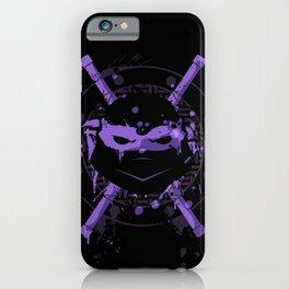 Donatello Turtle iPhone Case