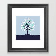 Bloomy Framed Art Print
