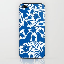 otomi blue iPhone Skin