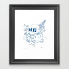 Vanitas II Framed Art Print