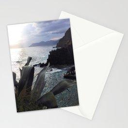 riomaggiore panorama, cinque terre. Stationery Cards