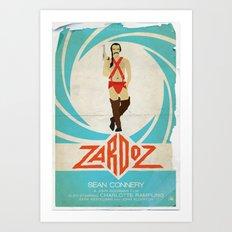 Agent Zardoz Art Print