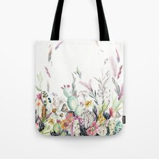 Santa Fe Cactus Love Tote Bag