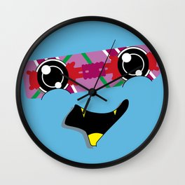 FUTURE feat. Back To The Future (Original Character Art) Wall Clock