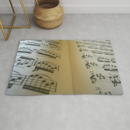 Music in the Middle Rug