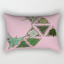 SucculentSunday Rectangular Pillow