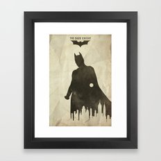 Hero - TDK Poster Framed Art Print