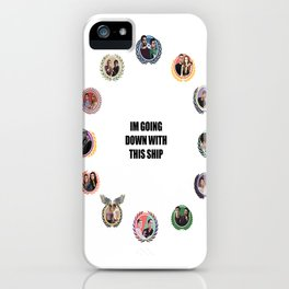 TW ALLIANCES CLOCK iPhone Case
