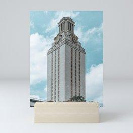 Beautiful day on UT campus Mini Art Print