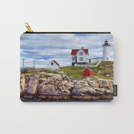 Nubble Light - Cape Neddick, York, Maine Carry-All Pouch