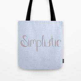 Simplistic Tote Bag