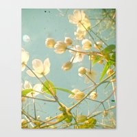 tangled Canvas Prints featuring Tangled by Cassia Beck