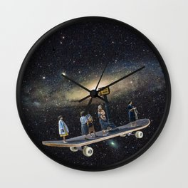 Galaxy board Wall Clock