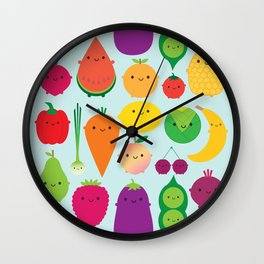 5 A Day Wall Clock
