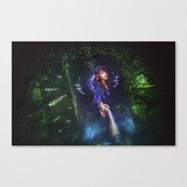Light in the Dark Canvas Print