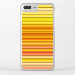 50 Shades of YELLOW - Living Hell Clear iPhone Case