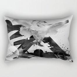 A moment of Lightness Rectangular Pillow