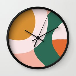 Sunrise Circles Wall Clock