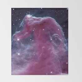 Horsehead Nebula Throw Blanket