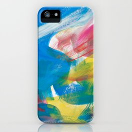 Abstract Artwork Colourful #4 iPhone Case