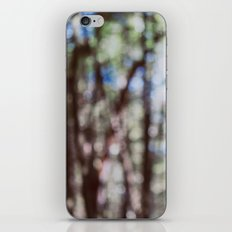 Mystify - Abstract Forest Landscape iPhone & iPod Skin