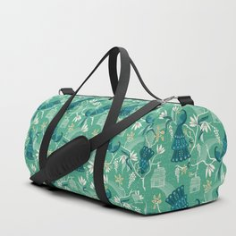 Aviary - Green Duffle Bag