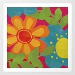 Bold and Bright Art Print