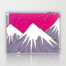 The mountains and the Snow Laptop & iPad Skin