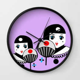 Pierette Japonais Wall Clock