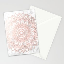 Pleasure Rose Gold Stationery Cards