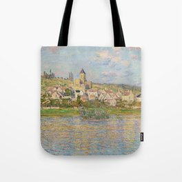 Vetheuil by Claude Monet Tote Bag
