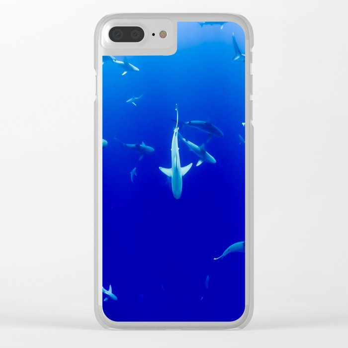 Sharks! Clear iPhone Case