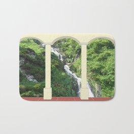 Waterfall under Arch Bath Mat