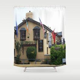 Durty Nelly's Village Inn Shower Curtain
