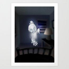 il Fantasma Art Print