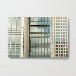 Windows Of The City Metal Print