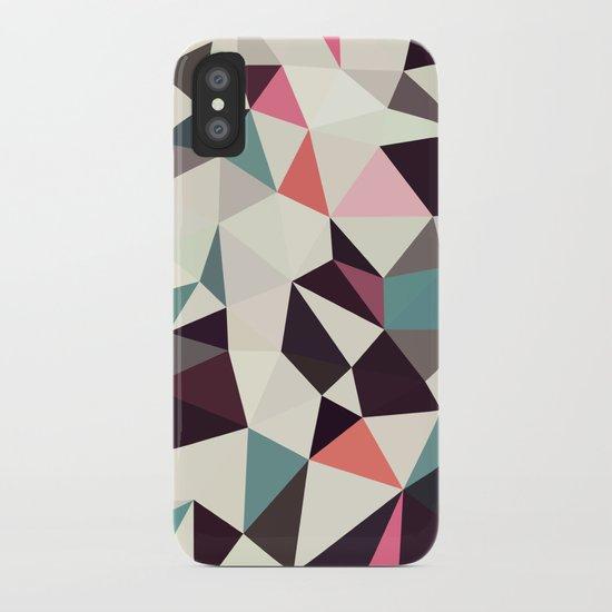 Retro Tris Light iPhone Case