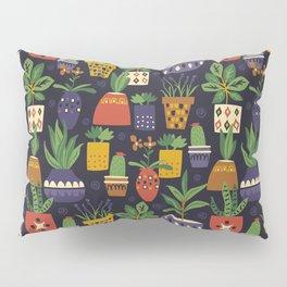 Potted Plants Pillow Sham