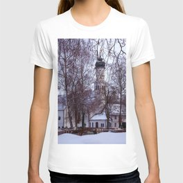 Concept Baden-Wurttemberg : Chapel with Cemetery in Laupheim T-shirt